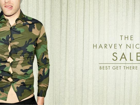 Harvey Nichols Print Ad -  Bad fit, 2
