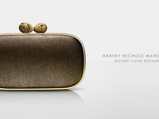 Harvey Nichols Outdoor Ad -  Clutch