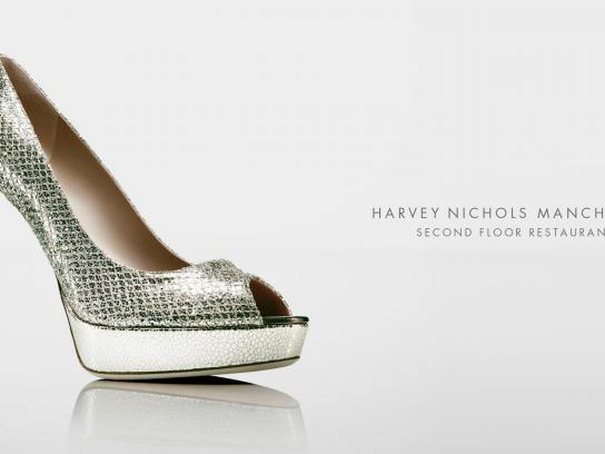 Harvey Nichols Outdoor Ad -  Shoe