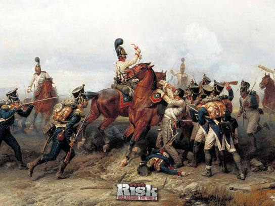 Hasbro Print Ad -  Battle, Austerlitz