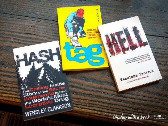 Norlis Print Ad -  Unplug with a book, Hashtag