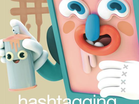 Telcel Print Ad -  Hashtag