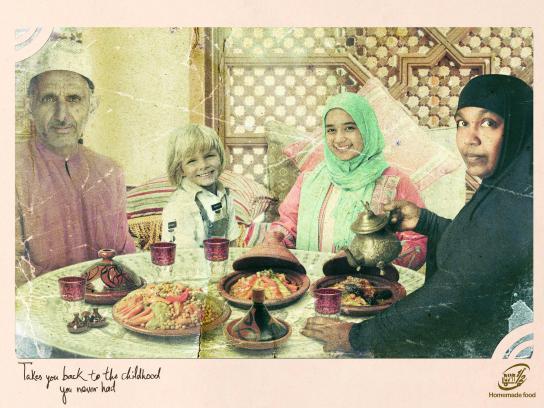 Hatsi Hinam Print Ad - Dinner