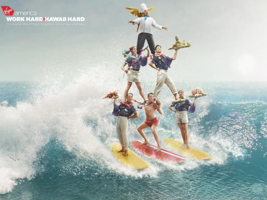 Virgin Print Ad - Surf