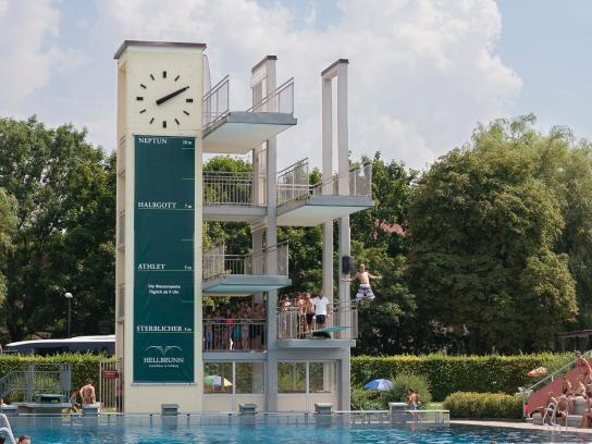 Hellbrunn Palace Outdoor Ad -  Diving tower