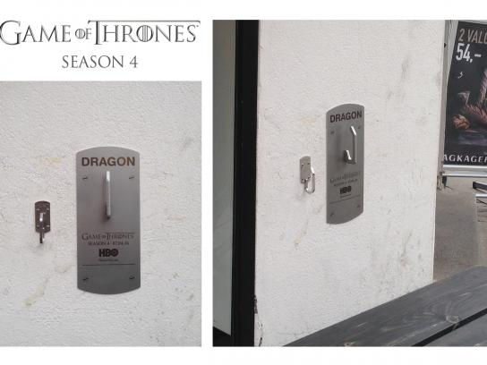 HBO Ambient Ad -  Dragon