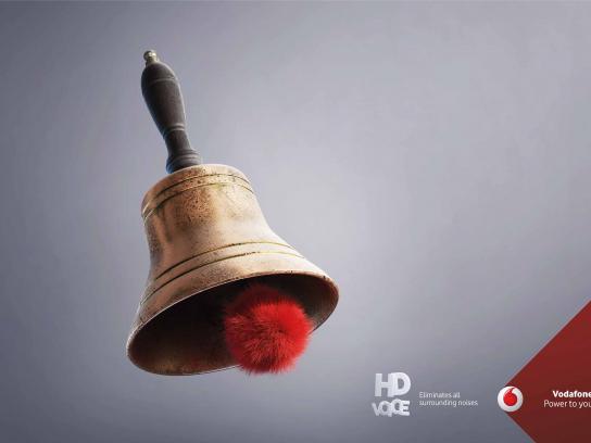 Vodafone Print Ad - HD Voice, 1