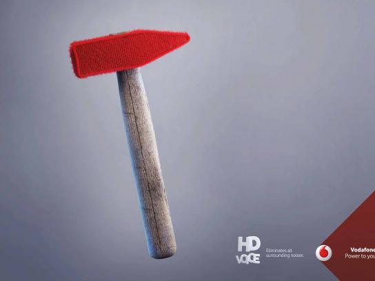 Vodafone Print Ad - HD Voice, 2