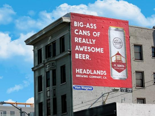 Headlands Outdoor Ad -  Awesome
