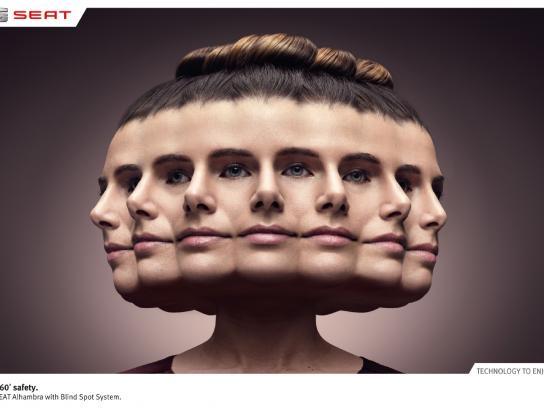 Seat Print Ad -  Woman