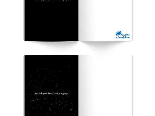 Head & Shoulders Print Ad - Black & White