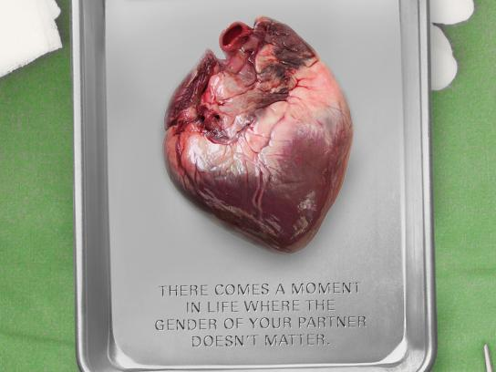 Amnesty International Print Ad - Heart