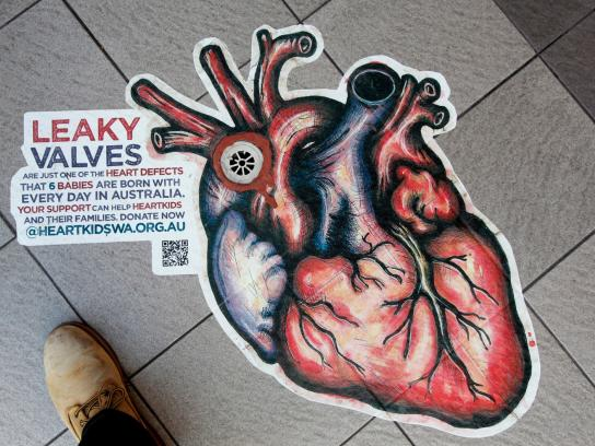 HeartKids Outdoor Ad -  Leaky heart, 2