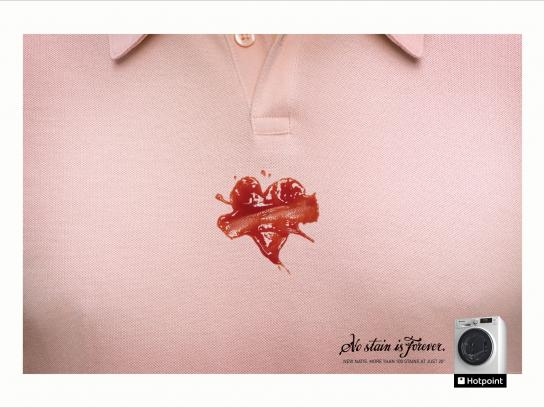Hotpoint Print Ad -  Tattoos - Heart