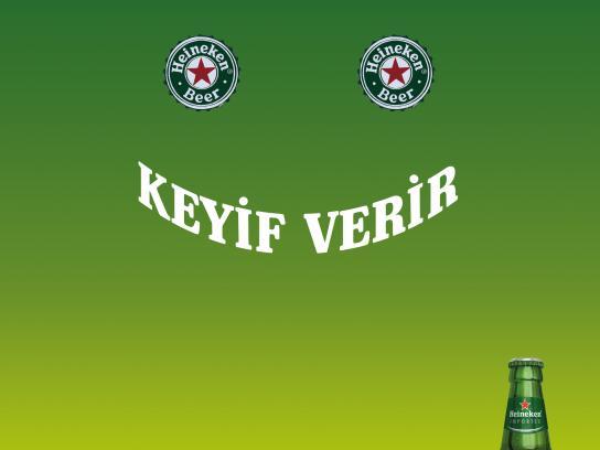 Heineken Print Ad - Smile