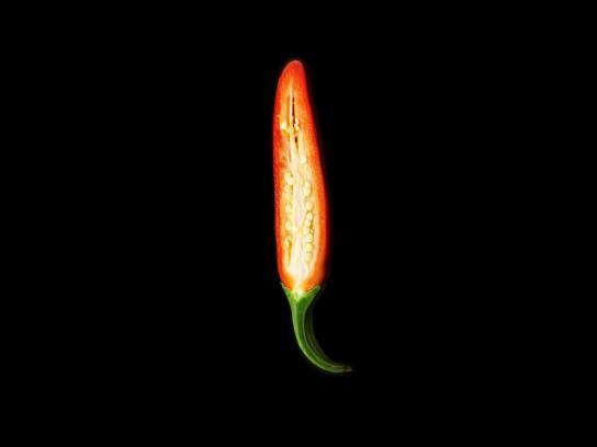 Heinz Print Ad - Flame