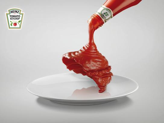 Heinz Print Ad -  Burger