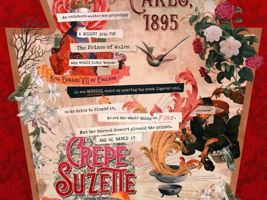 Heinz Print Ad - Crepe Suzette