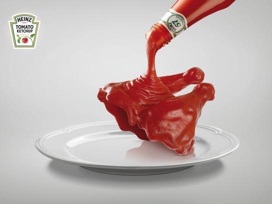Heinz Print Ad -  Chicken