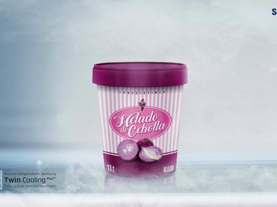 Samsung Print Ad - Icecream