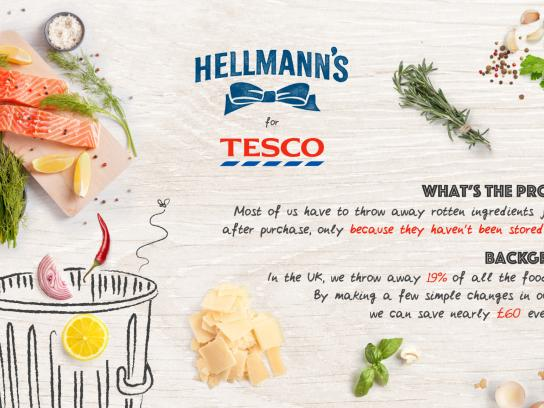 Hellmann's Integrated Ad - Ready-to-Store Bags