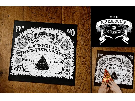 Hell Pizza Direct Ad -  Pizza Ouija