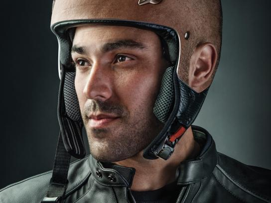 Jordan Insurance Company Print Ad - Helmet, 3