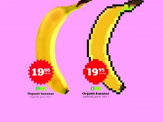 Hemköp Print Ad - Banana