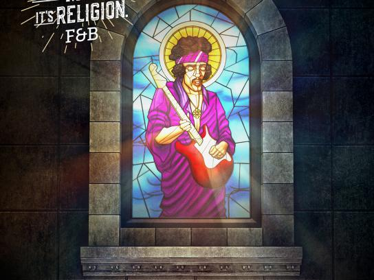 Rock is Religion - Hendrix