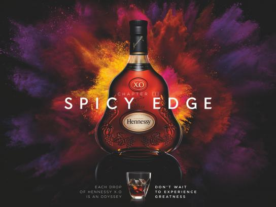 Hennessy Print Ad -  Spicy edge