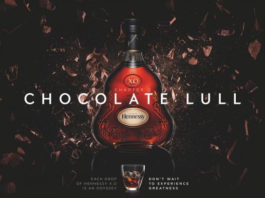 Hennessy Print Ad -  Chocolate lull