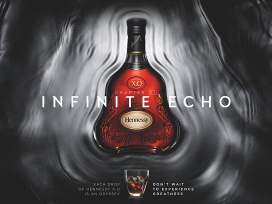 Hennessy Print Ad -  Infinite echo
