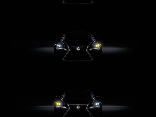 Lexus Outdoor Ad -  Blinker