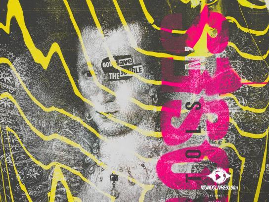 Mundo Livre FM Print Ad - Pistols n'Roses