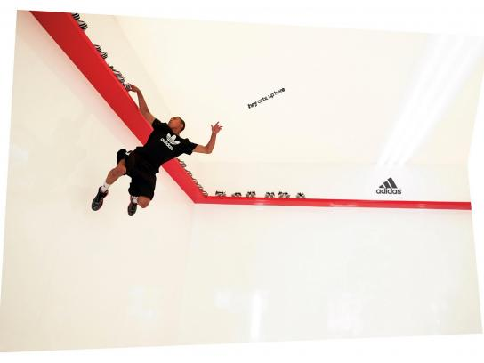 Adidas Print Ad -  Hey CCTV, Up Here