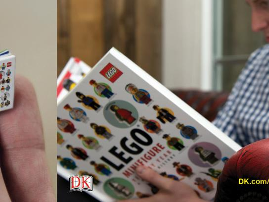 Lego Direct Ad -  LEGO® Minifigure Year by Year book