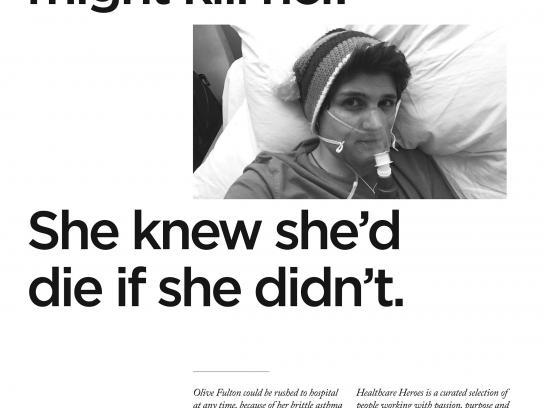 Havas Print Ad - Healthcare Heroes, 2