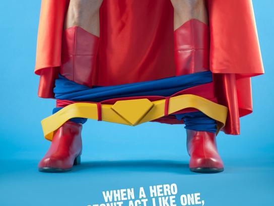 Aldeas Infantiles SOS Print Ad -  Heroes, 1