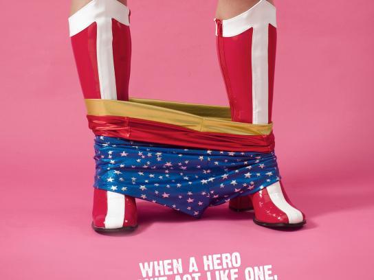 Aldeas Infantiles SOS Print Ad -  Heroes, 3