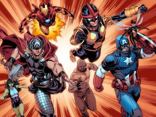 Marvel Digital Ad -  Heroes Welcome