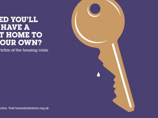 Homes for Britain Print Ad -  Key