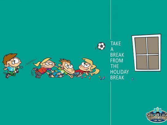 Hamat Gader Print Ad - Football