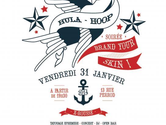Hula Hoop Print Ad -  Let's play, 1