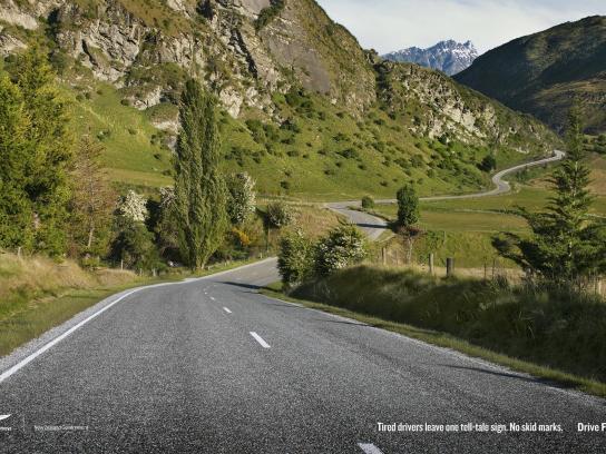 New Zealand Transport Agency Print Ad -  Hidden Crash