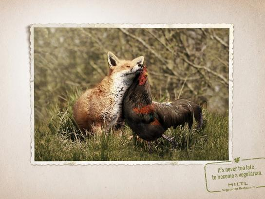 Hiltl Print Ad -  Animal friendship, 3