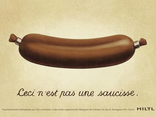 Hiltl Print Ad -  Sausage