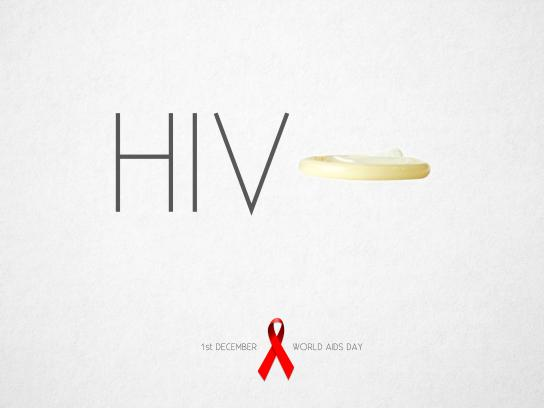 World AIDS Day Print Ad - The day