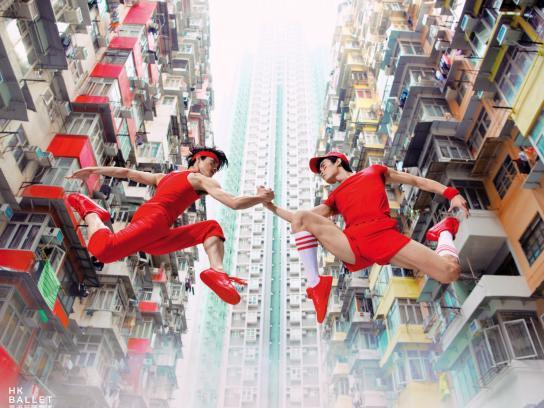 Hong Kong Ballet Print Ad - Martial Arts