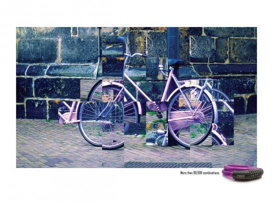 HMBR Print Ad -  The purple bike
