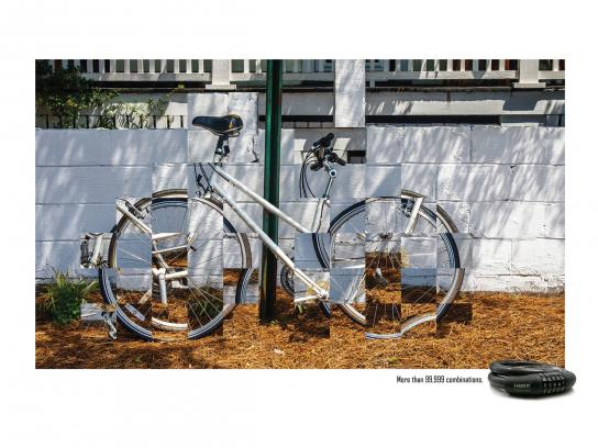 HMBR Print Ad -  The white bike